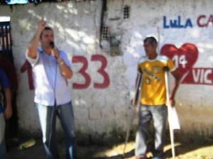 Morador reclama a falta de Remedio e curativos foto Portal Cabo
